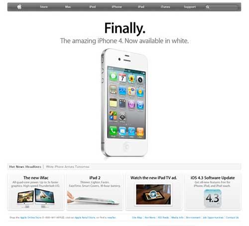 روانشناسی رنگها در طراحی سایت اپل