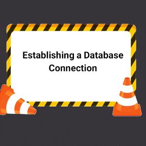 خطای عدم اتصال به پایگاه داده