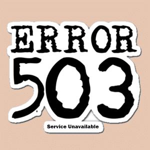 ارور 503 در وردپرس یا همان خطای Service Unavailable و نحوه رفع آن
