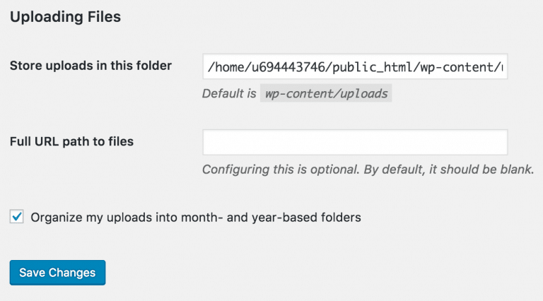 خطای unable to create directory در وردپرس