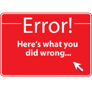 خطاهای رایج در وردپرس -wp errors